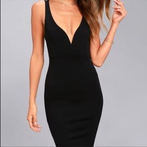 Gracefully Yours Black Dress